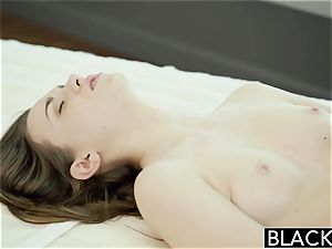 BLACKED Tali Dovas beau Lets her try A hefty dark-hued rod