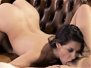 Shyla Jennings and Penny Pax all girl 3 way