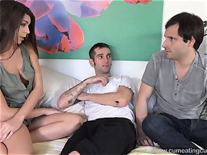 Olivia Lua humps Her hubbies junior bro
