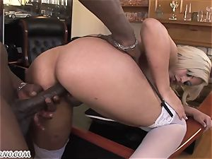 Bridgette B - My fresh Latina secretary in pantyhose
