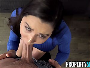 PropertySex bootylicious Real Estate Agent humps strung up client