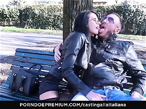 casting ALLA ITALIANA - kinky orgy with local first-timer