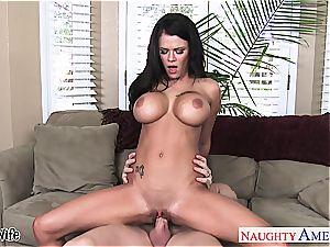 busty wifey Peta Jensen take man meat