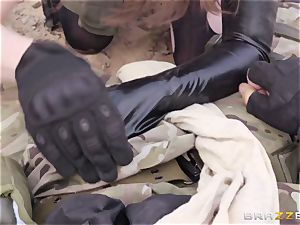 iron Gear Solid five ass fucking porno parody with ultra-kinky dark haired Casey Calvert