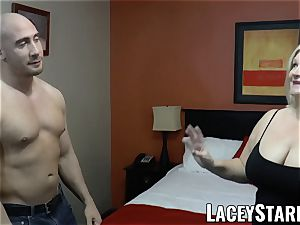 LACEYSTARR - GILF seduces gigantic dicked wolf into penetrating