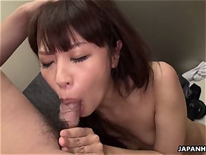japanese Aoi Miyama was orgy in the elevator uncensored