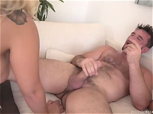 2 fat backside crazy tennis players Assh Lee and Morgan Lee get deeper analed