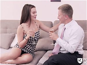 porn ACADEMIE - american Lana Rhoades tears up principal