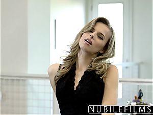 NubileFilms - Office bi-atch smashed Till She sprays