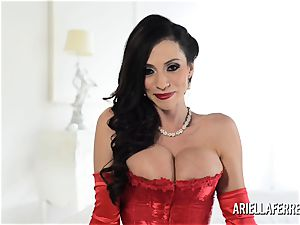 hot enormous funbag Ariella Ferrera Interview