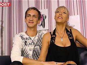 LETSDOEIT - sizzling auntie rails cousins man rod On lovemaking gauze