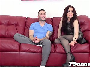 red-haired webcam honey Jessica Ryan pussyfucked