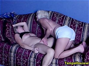 two horny nymphs with playthings