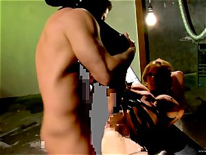 Shyla Stylez takes this rigid chisel deep in her cock-squeezing ass