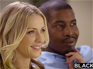 BLACKED Naomi woods and Karla Kush very first multiracial 3 way