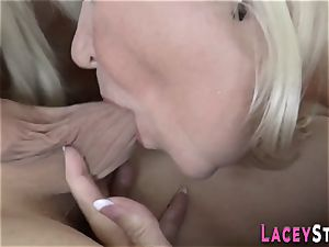 grandmother porked in 3 way