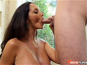 naughty black-haired Ava Addams has her spectacular vagina cracked into