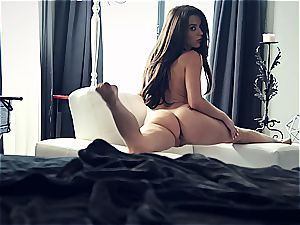 youthful adult movie star Lana Rhoades is unbelievable