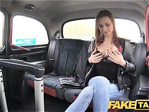 fake cab slim ginger-haired luvs raunchy fuckfest