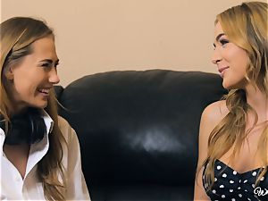 Carter Cruise and Blair Williams love each others scorching cunts