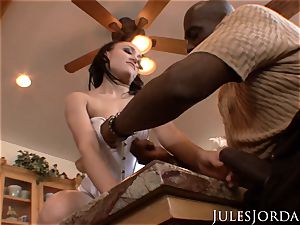 Jules Jordan - yam-sized dark-hued sausage fucky-fucky With Riley Reid