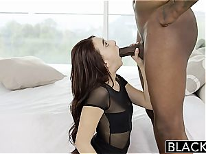 BLACKED hotwife girlfriend Mandy Muse has rectal bang-out with big black cock