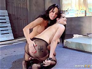Lezley Zen and Katrina Jade fetish all girl screw