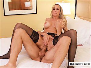 Brandi love cougar call girl romped stiff