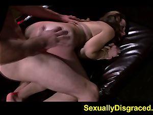 strap bound Marley Blaze raunchy stiff orgy