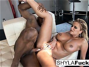 Shyla Takes A meaty stiffy