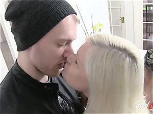 AgedLovE big-boobed Lacey Starr xxx and suck off