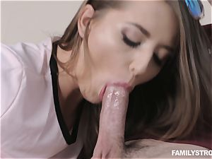 Avery Adair torn up in her cock-squeezing muff