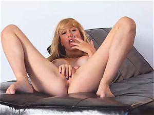 rough Brett Rossi nude and stroking