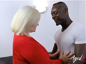 AgedLovE Lacey Starr bi-racial hard-core assfuck
