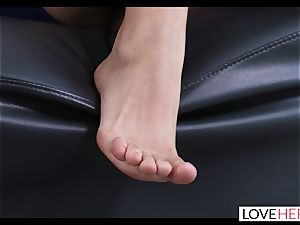 super-fucking-hot foot fuck-a-thon With My Sisters hotwife boyfriend