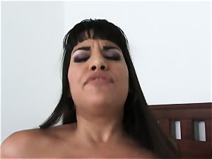 Smoking steaming cougar Mercedes Carrera messing with her stepson