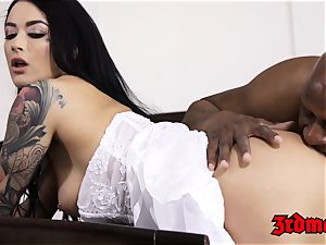 hotwife bride creampied by a bbc