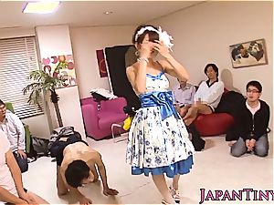 chinese girl loves mass ejaculation