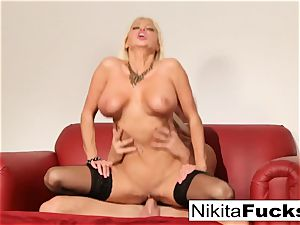 Russian mummy Nikita takes a gigantic manhood