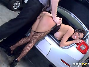 nasty mature Veronica Avluv leaned over and torn up