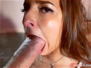 Amirah Adara thrashed by a giant pink cigar