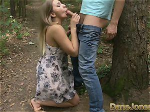 Dane Jones innate orbs Serbian teenager takes hefty fuck-stick