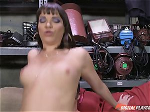 Dana DeArmond gets her gorgeous tight cunny ate and toyed with