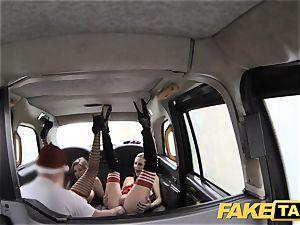 faux taxi Xmas theme exclusive santa assfuck bangs 2 elves