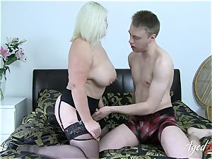 AgedLovE big-chested Mature Lacey Starr xxx paramour