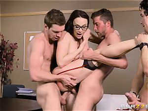 Chanel Preston humped in every hole