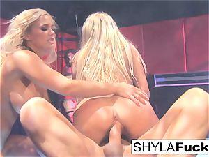 Shyla's warm three-way