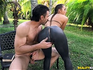 Abigail Mac pounded in her taut vagina