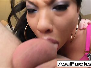 pornographic star Asa Is Known For Her muddy BJs