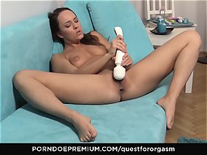 QUEST FOR climax - Blue Angel wand induced orgasms
